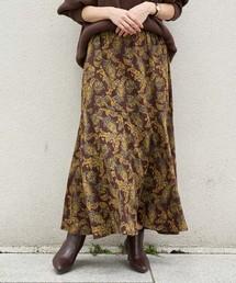 CAPRICIEUX LE'MAGE(カプリシューレマージュ)のペイズリーフレアスカート(スカート)