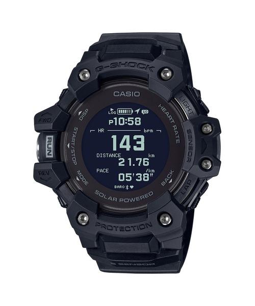 G-SQUAD(ジー·スクワッド) / GBD-H1000シリーズ / 心拍計+GPS機能搭載モデル / GBD-H1000-1JR / Gショック