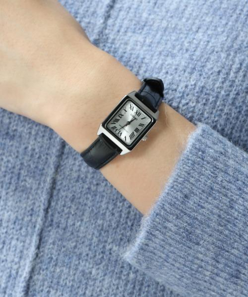 CASIO(カシオ)の「【CASIO】クラシックレザー/918580(アナログ腕時計)」 ブラック
