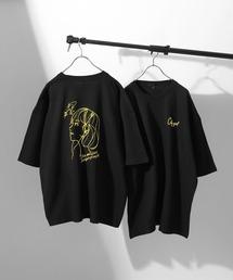 ZIP FIVE(ジップファイブ)のアソートイラストプリントビッグシルエット半袖Tシャツ【ユニセックス】(Tシャツ/カットソー)