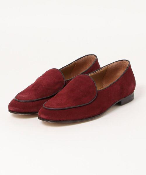 *アラウンドザシューズ/around the shoes 型押しベルジャンシューズ