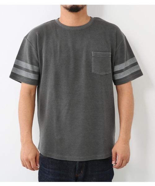 ピグメント ワッフル Tシャツ
