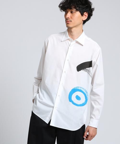 高級品市場 「明」シャツ[ メンズ コラボ シャツ ], ニシキチョウ c6d59b79