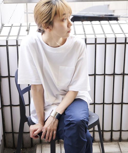 REBIRTH PROJECT/リバースプロジェクト 【RECOVER/リカバー】ドロップショルダービッグTシャツ