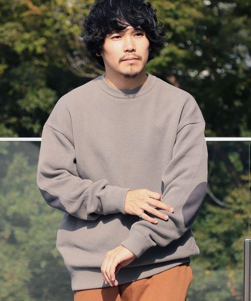 beba2a5670625 BEAMS T(ビームスティー)のCrepuscule / Patch Long Sleeve Tee(Tシャツ