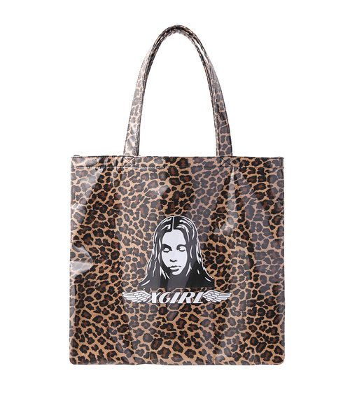 X-girl(エックスガール)の「ANGEL FACE TOTE BAG(トートバッグ)」|詳細画像