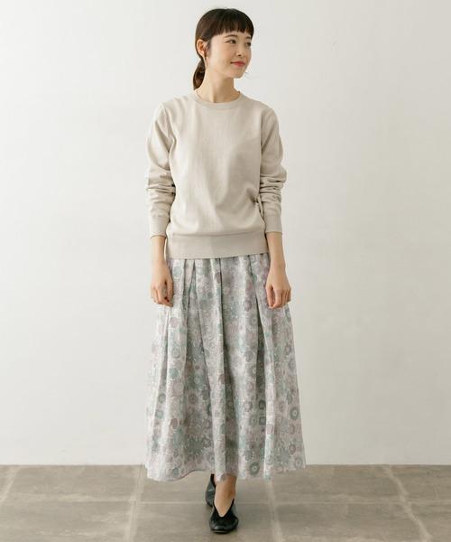 かぐれ(カグレ)の「リバティフランダースリネンスカート(スカート)」|詳細画像