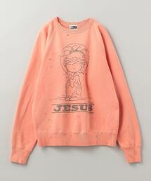 SAINT MICHAEL(セント マイケル)CREW JS SWEAT■■■