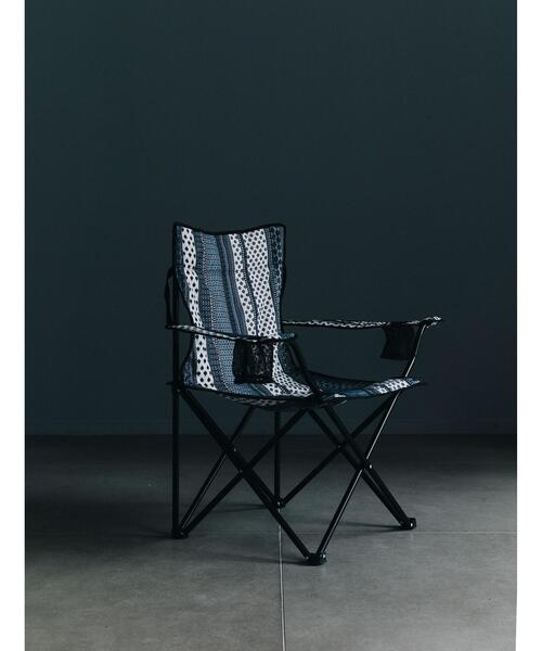 <monkey time> ETHNIC PATTERN ARMCHAIR/アームチェア
