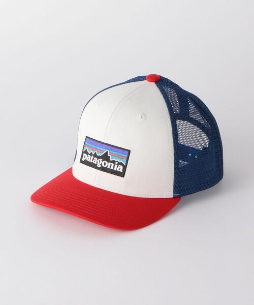 <patagonia(パタゴニア)>38 キッズ トラッカー ハット 帽子