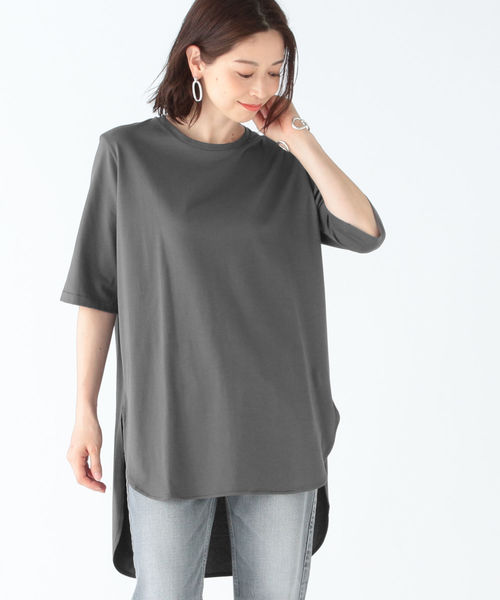 【タイムセール!】 ATON/ ラウンドヘム スビン ラウンドヘム Tシャツ(Tシャツ//カットソー)|Demi-Luxe Demi-Luxe BEAMS(デミルクス ビームス)のファッション通販, ヤマモトグン:0c680ce6 --- tsuburaya.azurewebsites.net