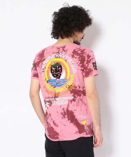 65%OFF【送料無料】 【セール embroidery】【RAWLIFE限定】『Safari 6月号掲載商品』birdog -STRAWBERRY/バードッグ/hand embroidery tye-dye -STRAWBERRY t-shirts -STRAWBERRY FIELDS-/手刺繍タイダイTシャツ -STRAWBERRY FIELDS-(Tシャツ/カットソー)|birdog(バードック)のファッション通販, コスメパレット プラス:80e88339 --- blog.buypower.ng