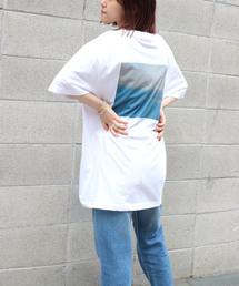 1975 tokyo(イチキューナナゴートーキョー)の1975 TOKYO(1975 トーキョー) 天竺バックプリントTシャツ(Tシャツ/カットソー)