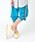 LEGURUS STANDARD(レグルススタンダード)の「クロップドジョガーパンツ(パンツ)」|コバルトブルー