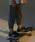 LEGURUS STANDARD(レグルススタンダード)の「クロップドジョガーパンツ(パンツ)」|ダークグリーン