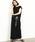SALON adam et rope'(サロン アダム エ ロペ)の「ドローストリングノースリーブドレス(ワンピース)」|ブラック