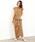 SALON adam et rope'(サロン アダム エ ロペ)の「ドローストリングノースリーブドレス(ワンピース)」|詳細画像