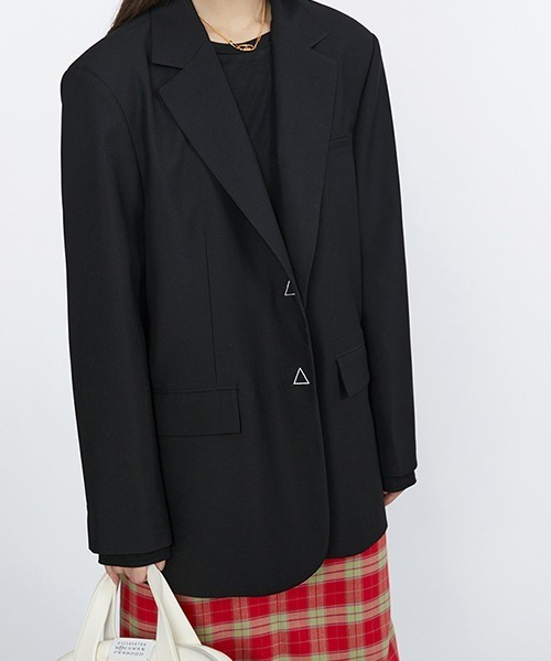 【Fano Studios】【2021SS】Oversized stitch tailored jacketc cb-3 FC21W057