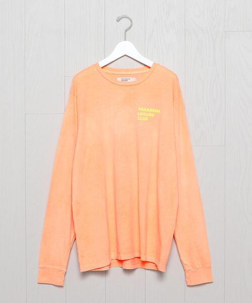 <PASADENA LEISURE CLUB>LOGO LONG SLEEVE T-SHIRT/Tシャツ.