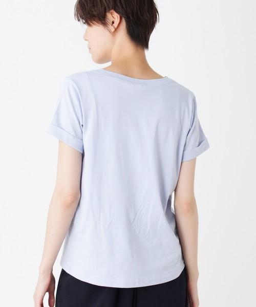 ビジューロゴTシャツ