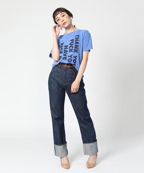 RYUJI KAMIYAMA/リュウジカミヤマ ROGO TS/ロゴ半袖Tシャツ