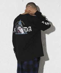 LEGENDA(レジェンダ)のFuture is Outs ルーズシルエットクルーネックロンT(Tシャツ/カットソー)