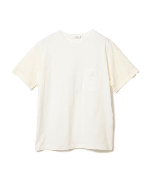 BEAMS LIGHTS / ケーブルスリーブ Tシャツ