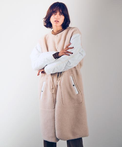【日本製】 JANESMITH QUILT ジェーンスミス/ BOA ジェーンスミス QUILT COAT/ ノーカラーリバーシブルボアキルトコート/ 9WCO-#901L(モッズコート)|JANESMITH(ジェーンスミス)のファッション通販, オリジナル革製品KC.sオンライン:b0ee6098 --- 5613dcaibao.eu.org