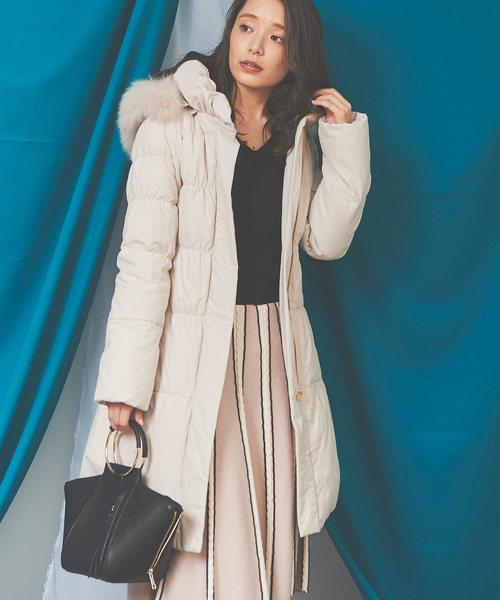 ★日本の職人技★ ロングダウンコート(ダウンジャケット/コート) Noela(ノエラ)のファッション通販, かばんのサンペイ:6bc0640d --- fahrservice-fischer.de
