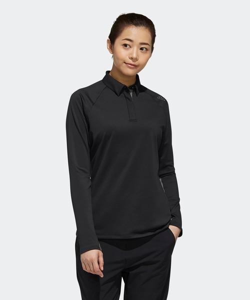 パフォーマンス 長袖ポロシャツ【adidas Golf/アディダスゴルフ】/ [perfm LS Polo]