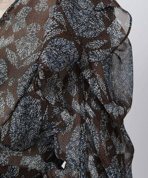 GOSPELL/ゴスペル Viper Drawstring Dress
