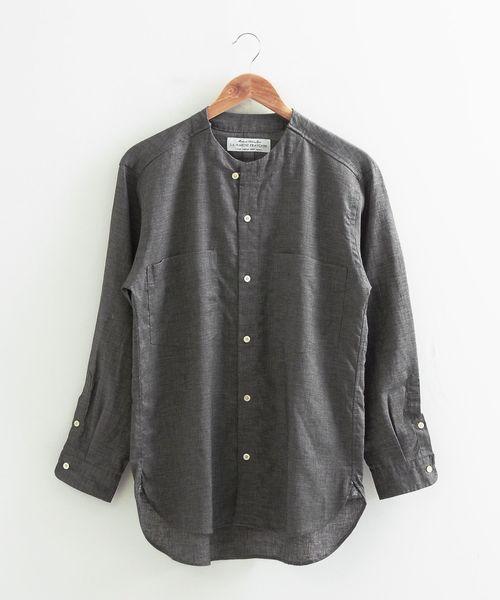 お買い得モデル 【セール】リネン ノーカラーシャツ(シャツ/ブラウス) セール,SALE,LA LA MARINE FRANCAISE(マリン MARINE フランセーズ)のファッション通販, e-優美堂:83babe2e --- wm2018-infos.de