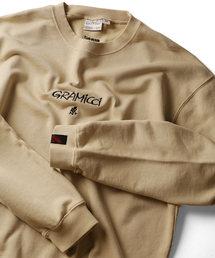 GRAMICCI (グラミチ)の▽GRAMICCI/グラミチ 別注刺繍FRONT LOGO SWEAT/フロントロゴスウェット(スウェット)