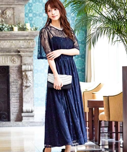 熱い販売 Fashion総レースロングワンピースドレス(ドレス) Fashion Letter(ファッションレター)のファッション通販, 販促イベント屋:68bad739 --- 5613dcaibao.eu.org