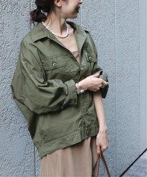 NOBLE(ノーブル)の*オーバーサイズミリタリーシャツジャケット2◆(ミリタリージャケット)