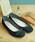 MODE KAORI(モードカオリ)の「撥水リボンバレエシューズ(パンプス)」|ブラック