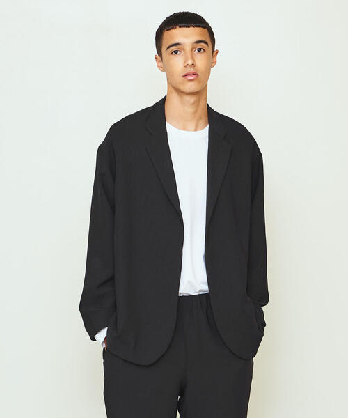 UNITED ARROWS & SONS by DAISUKE OBANA PE BUTTONLES JACKET 19AW