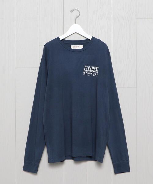 <PASADENA LEISURE CLUB>PASADENA LONG SLEEVE T-SHIRT/Tシャツ.