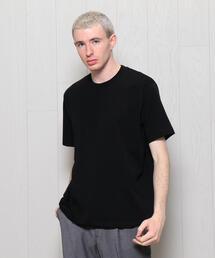 <H>HYBRID CREW NECK SHORT SLEEVE T-SHIRT/Tシャツ