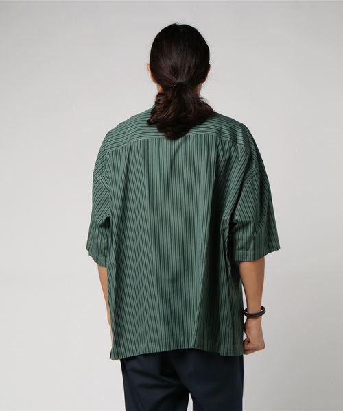 COLOR DYE FAT WORK2/カラーダイ ファットワークシャツ#
