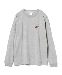 Kousuke Shimizu / embroidery ロングスリーブ Tシャツ(Tシャツ/カットソー)