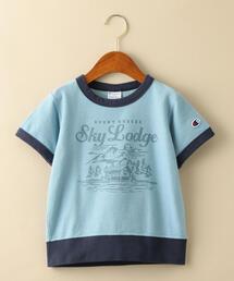 【キッズ】〔別注〕CHAMPION(チャンピオン)リンガーTシャツ