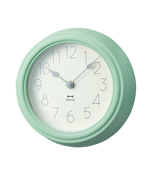 BRUNO(ブルーノ)の「スウィートパステルウォールクロック(掛け時計)」|グリーン