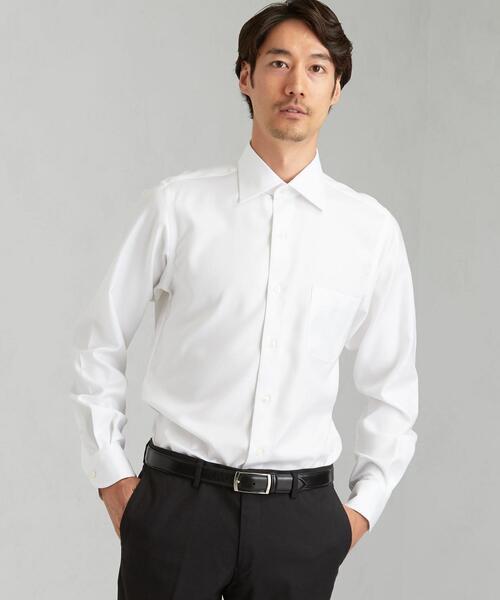 EASY IRON ロイヤルツイル ワイドカラー ドレスシャツ < 機能性 / イージーアイロン >