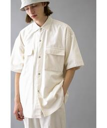 <monkey time> 7W SOFT CORD SNAP SHIRT/シャツ
