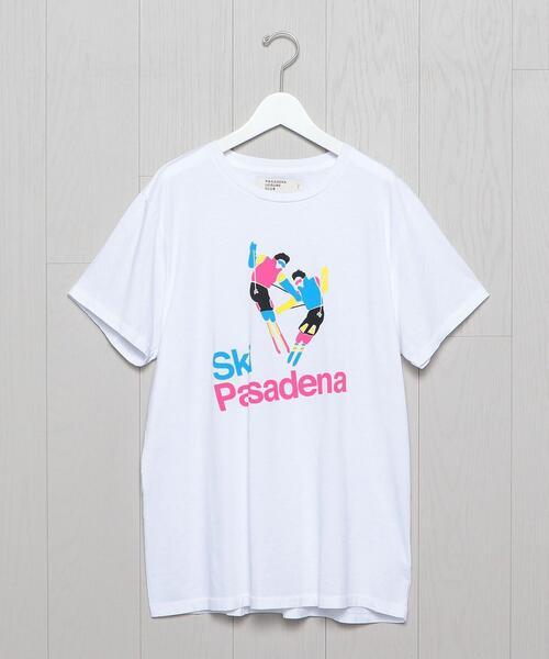<PASADENA LEISURE CLUB>SKI T-SHIRT/Tシャツ.