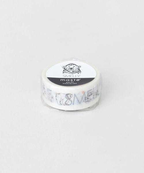 SMELLY(スメリー)の「SMELLY × maste15mm(ステッカー/テープ)」|ホワイト系その他