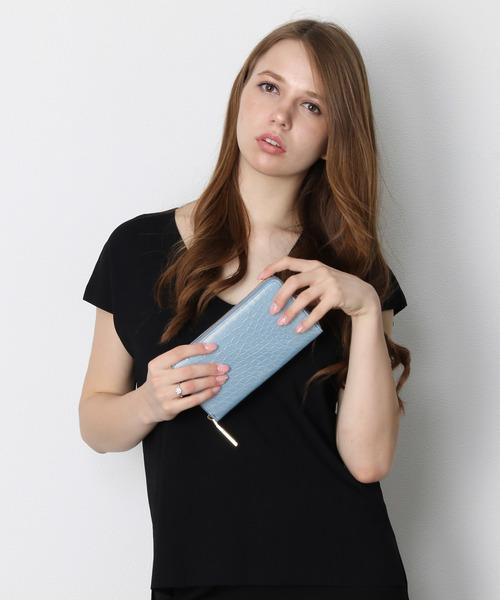 人気激安 クロコダイルレザーパール長財布(財布)|mieno(ミーノ)のファッション通販, ホクリュウチョウ:d0182f0e --- pyme.pe