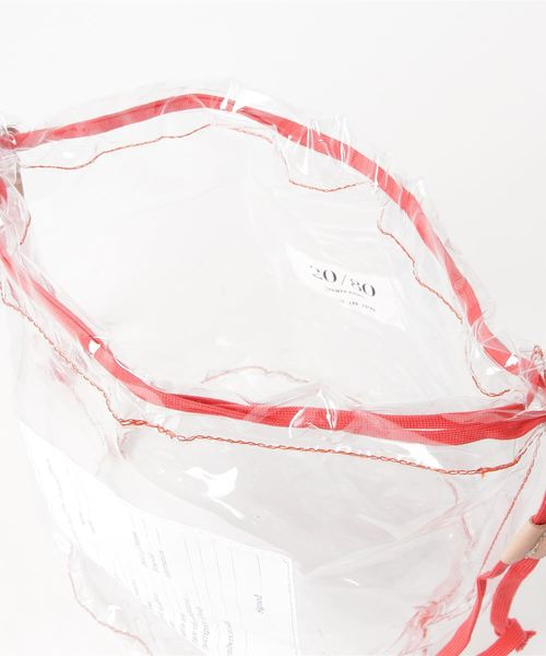 20/80 CLEAR PVC PERSONAL EFFECTS BAG