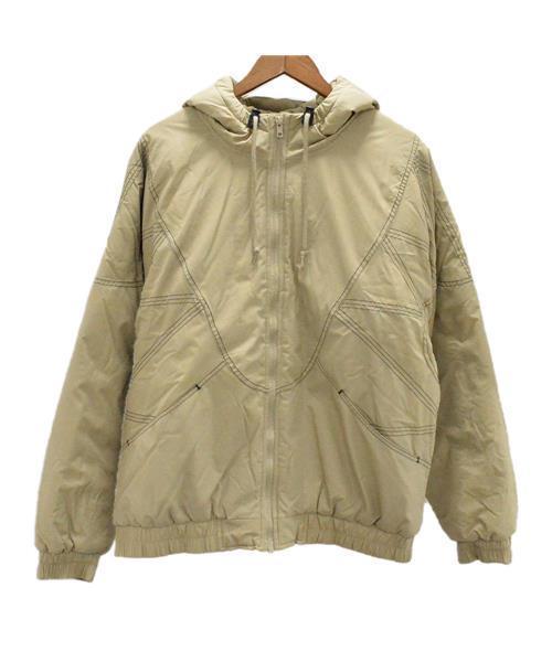 4c7e3bff Supreme(シュプリーム)の古着「Zig Zag Stitch Puffy Jacket ジップアップパーカー ダウン